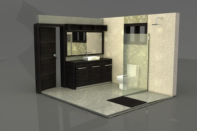 moderní návrh koupelny